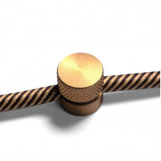 Cable clamp - Sarè Brushed Bronze