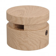 Cable holder wood