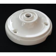 Ceiling rose porcelain white