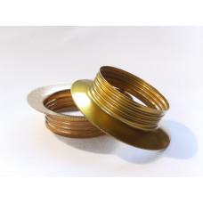 Shade rings ES brass