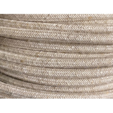 Fabric cable beige linnen