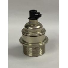 Lamp holder nickel ES