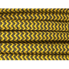 Fabric cable antracit/honey