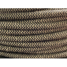 Fabric cable antracit/offwhite