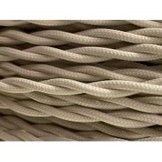 Fabric cable Cream