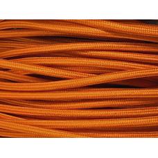 Fabric cable orange fire