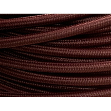 Fabric cable burgundy